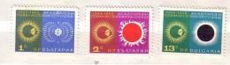 Bulgaria / Bulgarie 1965 International Quiet Sun Year   3v.- MNH - Unused Stamps