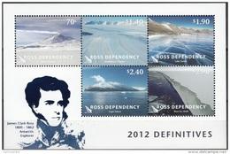 Ross Depency 2012 Bloc Feuillet Paysages Antarctiques Neuf ** - Neufs