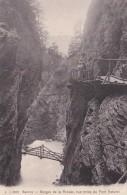 Switzerland Servoz Gorges de la Diosaz vue prise du Pont Naturel