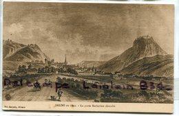 - SALINS - ( Jura ) - En 1822 - La Porte Barbarine,  Ancienne, Non écrite, TBE, Scans. . - Altri Comuni