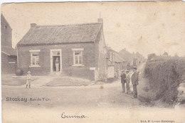 Stockay - Rue Du Tige (Edit. E. Lemye-Havelange, Animée, 1902) - Saint-Georges-sur-Meuse