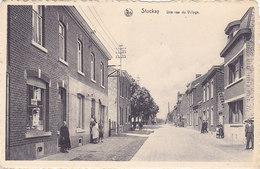 Stockay - Une Rue Du Village (animée, Pompe à Essence, 1959) - Saint-Georges-sur-Meuse