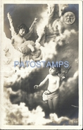 70810 REAL PHOTO BOY ANGEL CUPID POSTAL POSTCARD - Postkaarten