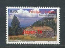 ANDORRA (span.) Mi.NR. 389  Europa - Besuche -2012 - MNH - Europa-CEPT
