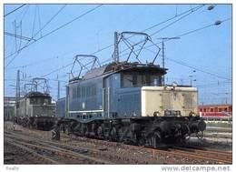 Train Locomotive Elektro Guterzuglolokomotive 194 178-0 Locomotive Krauss- Maffei/ Munchen 1955 Photo 1984 - Treinen