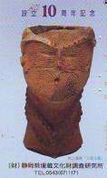 Télécarte Japon * Archaéologie Préhistoire (29) Japan Phonecard Archaeology * Telefonkarte * ARCHEOLOGY * CULTURE - Télécartes