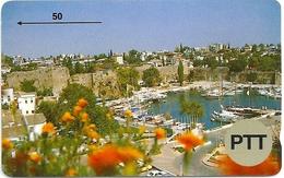Turkey - PTT - GPT - Antalya Old Harbour - Shallow Notch Specimen (no Serial)