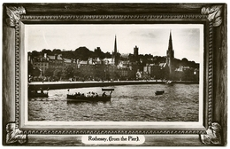 ISLE OF BUTE : ROTHESAY (FROM THE PIER) - Bute