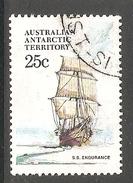 003127 AAT 1979 25c FU - Australian Antarctic Territory (AAT)