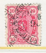 FINLAND  32      Perf. 12 1/2  (o)   1885   Issue - 1856-1917 Russian Government