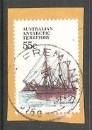 003130 AAT 1979 55c FU On Piece - Australian Antarctic Territory (AAT)