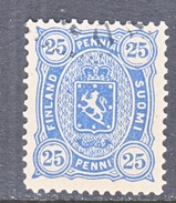 FINLAND  34      Perf. 12 1/2  (o)   1885   Issue - 1856-1917 Russian Government
