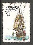003131 AAT 1980 $1 FU - Australian Antarctic Territory (AAT)