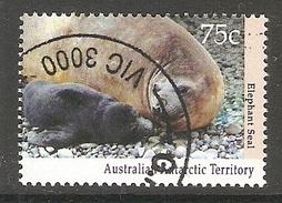 003136 AAT 1992 75c FU - Australian Antarctic Territory (AAT)