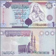 Libye - Libya 1 DINAR 2009 Pick 71 NEUF - UNC - Muammar Gaddafi - Libya