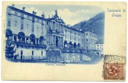 R.119.   Santuario Di OROPA - 1908 - Altre Città
