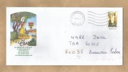 Enveloppe Entière Millas (66) Le Moulin à Huile D'Olive 4 Avenue Jean-Jaurès 2 Scans La Catalane 10/07/2008 - Marcophilie (Lettres)