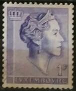 LUXEMBURGO 1960 Grand Duchess Charlotte. USADO - USED. - Luxemburgo