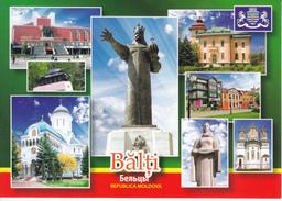 MOLDOVA ;  MOLDAVIE ; MOLDAWIEN  ; MOLDAU , Balti , Coat Of Arms , Postcard - Moldavie
