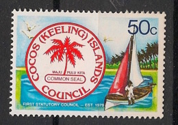 Cocos - 1979 - N°Yv. 33 - Conseil Statutaire - Neuf Luxe ** / MNH / Postfrisch - Cocos (Keeling) Islands
