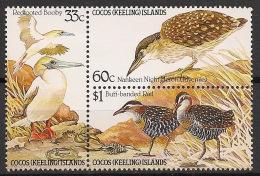 Cocos - 1985 - N°Yv. 131 à 133 - Oiseaux - Neuf Luxe ** / MNH / Postfrisch - Cocos (Keeling) Islands