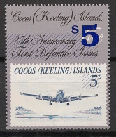 Cocos - 1991 - N°Yv. 227 - Timbre Sur Timbre - Neuf Luxe ** / MNH / Postfrisch - Cocos (Keeling) Islands