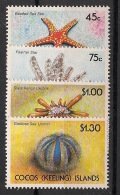 Cocos - 1991 - N°Yv. 233 à 236 - Faune Marine - Neuf Luxe ** / MNH / Postfrisch - Cocos (Keeling) Islands