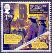 GROSSBRITANNIEN GRANDE BRETAGNE GB 2016 ST PAULS DESTRUCTION FROM THE GREAT FIRE OF LONDON   £1.05 SG 3872 - 1952-.... (Elizabeth II)