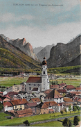 TOBLACH → Perspektive Gegen Das Ampezzotal Anno 1921  ►Mischfrankatur◄ - Bolzano (Bozen)
