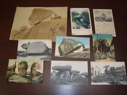 Ca1900 Geology Rock Formations Argentina France Dolmen Lot 8 Postcards &1 Photo - Postcards