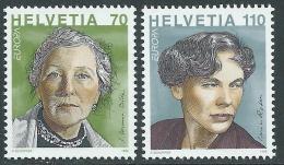 1996 EUROPA SVIZZERA MNH ** - B - 1996