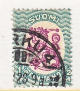 FINLAND  103  Perf  14 1/4 X 14 3/4  (o)  No Wmk.  1917-30  Issue - Finland