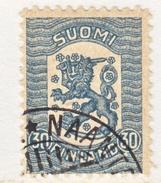 FINLAND  113   (o)  No Wmk.  1918  Issue - Finland