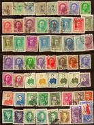 IRAN 1933-1962 Collection 53 Stamps M+U Z092 - Iran