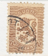 FINLAND  116   (o)  No Wmk.  1918  Issue - Finland