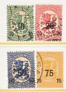 FINLAND  119-22   (o)    1919  Issue - Finland