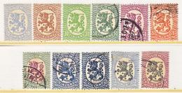 FINLAND  127 +  *  (o)   Wmk. 127   1925-29  Issue - Finland