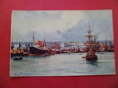 CPA Dos Divisé édit. L&M Sites De France  Par Eug. Bourgeois N°2 Le Havre Le Bassin De L'Eure Neuve   B/TB - Le Havre