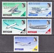 ANTIGUA  232-6  **  AIRPLANES - Antigua & Barbuda (...-1981)