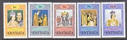 ANTIGUA  508-12   **   Q.E.  II  CORONATION - Antigua & Barbuda (...-1981)