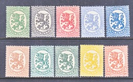 FINLAND  83 +  *  No Wmk. - Unused Stamps