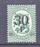 FINLAND  123   **   1921  Issue - Unused Stamps