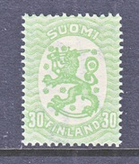 FINLAND  130 A   Perf.  14 1/4 X 14 3/4   *  Wmk. 127   1925-29  Issue - Finland