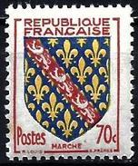 France 1955 - Coats Of Marche ( Mi 1073 - YT 1045 ) MNH** - France