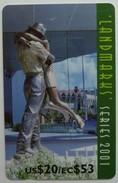 Saint Lucia - GPT - Landmarks Series 2001 - Specimen - Aftermath - EC $53 - Saint Lucia