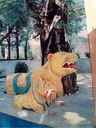 INDIA Temple Tarnadevi,mandi,lion Ou Tigre Tiger,bombay,  STAMP SELO TIMBRE SINGAPORE  VB1973 GC13664 - India