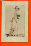 Mode - Femme - L'élégance En 1820 (écrite Au Dos) - Mode