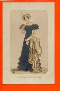 Mode - Femme - L'élégance En 1821 (écrite Au Dos) - Mode