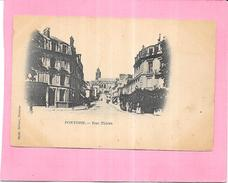 PONTOISE - 95 - CPA DOS SIMPLE - Rue Thiers - ENCH - - Pontoise