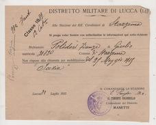 ^ CARABINIERI STAZZEMA LUCCA POLIDORI DOCUMENTO 49 - Historical Documents